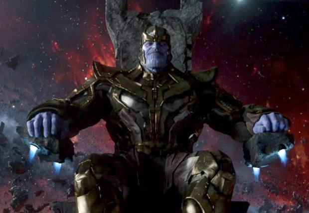 Imagen oficial de Josh Brolin como Thanos