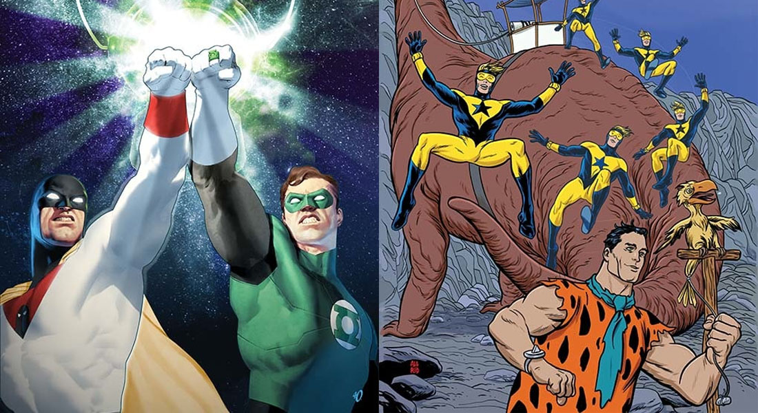 Crossovers de Green Lantern & Space Ghost y Batman & Top Cat